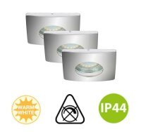 Einbauleuchte Briloner Attach LED Downlight 3er Set...