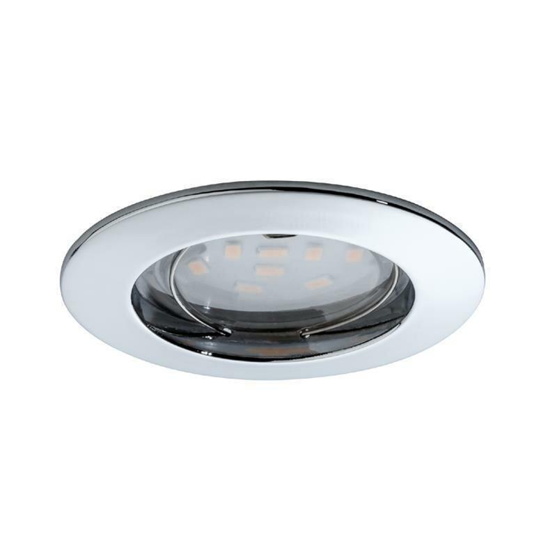 einbauleuchte paulmann coin led chrom downlight einbaulampe 9 60 eu. Black Bedroom Furniture Sets. Home Design Ideas