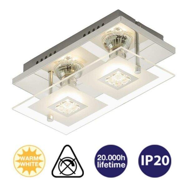 Außenleuchte Eglo Ariolla Wandlampe LED 2 x 2,5W Wandstrahler Gartenlampe